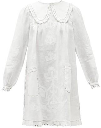 Vita Kin - Daisy Lace-trimmed Linen Dress - White