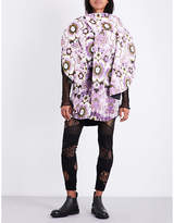Junya Watanabe Floral velvet jacquard jacket