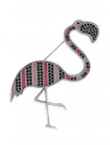 Sonia Rykiel The Webster x Lane Crawford flamingo brooch