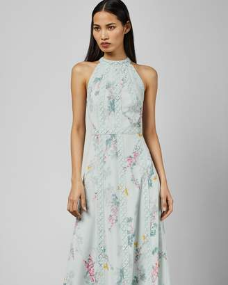 Ted Baker DAHLEEN Sorbet lace maxi dress