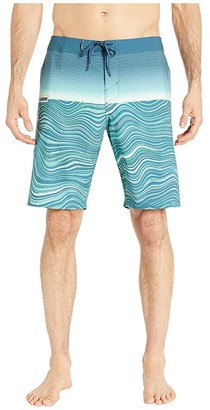 O'Neill Hyperfreak Boardshorts (Blue) Men's Swimwear