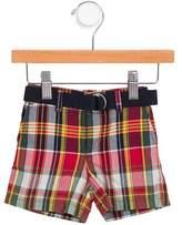 Ralph Lauren Boys' Plaid Mid-Rise Shorts w/ Tags