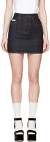 Alexachung Navy Denim Miniskirt