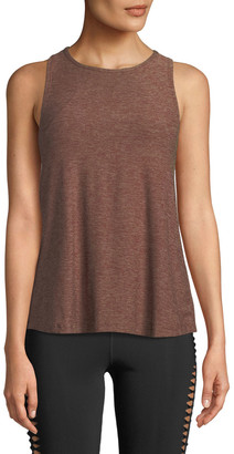 Beyond Yoga Lightweight Open-Back Scoop-Neck Tank