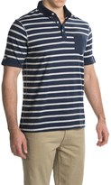 Report Collection Nep Yarn Stripe Polo Shirt - Short Sleeve (For Men)