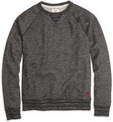 Brooks Brothers Slub Raglan Crewneck Sweatshirt