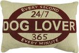Park B Smith Park B. Smith Dog Lover Tapestry Decorative Pillow
