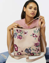 Accessorize Floral Embroidered Hobo Bag