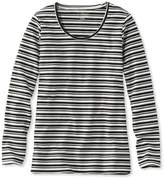 L.L. Bean L.L.Bean Tunic, Long-Sleeve Stripe