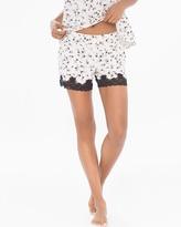 Soma Intimates Lace-trimmed Pajama Shorts