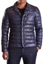 Geospirit Men's Blue Polyester Down Jacket.
