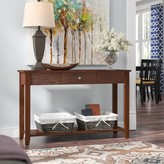 Andover Mills Lemont Console Table Color: Espresso
