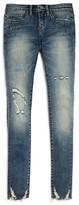 Blank NYC BLANKNYC Girls' Distressed & Embellished Skinny Jeans - Sizes 7-14