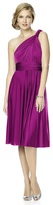 Dessy Collection - MJ-TWIST1 Dress in Persian Plum