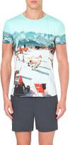 Orlebar Brown Ob-t hulton getty cotton t-shirt