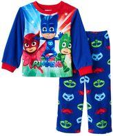 Toddler Boy PJ Masks Catboy, Owlette & Gekko Fleece Pajama Set