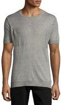 Diesel K-Leo Ribbed T-Shirt, Gray