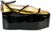 Gucci removable platform ballet flats - women - Leather - 36