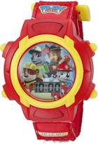 Nickelodeon Kids' PAW5003 Digital Display Quartz Red Watch
