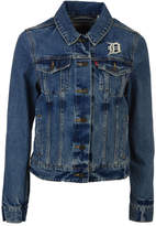 Levi's Women's Detroit Tigers Denim Trucker Jacket