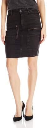 G Star Raw G-Star Women's Powel Slim Knee-Long Skirt