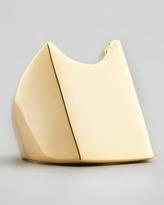 Rebecca Minkoff 18k Gold Plate Rectangle Signet Ring