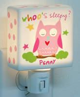Sandra Magsamen Personalized Girl Owl Night-Light