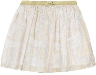 3 Pommes Kid Girl Pale Gold Skirt