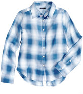 Tommy Hilfiger Plaid Shirt, Big Girls (7-16)
