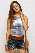 American Eagle Outfitters Don't Ask Why High Neck Crop Tank