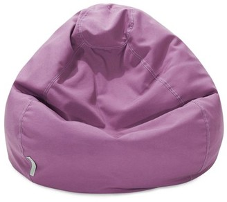 Majestic Home Goods Large Classic Bean Bag Chair, Multiple Colors