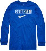Nike Long-Sleeve Football Shirt - Boys 8-20
