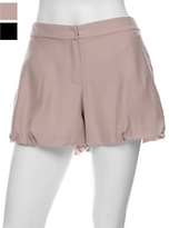 Alex Lane Silk Puff Shorts