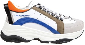DSQUARED2 Sneakers Bumpy 551 In Multicolor Leather