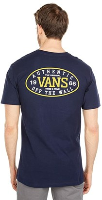 Vans Authentic Tried and True Short Sleeve Tee (Athletic Heather) Men's Clothing
