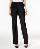 JM Collection Straight-Leg Pants, Only at Macy's