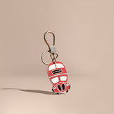Burberry Double-decker Bus Key Charm