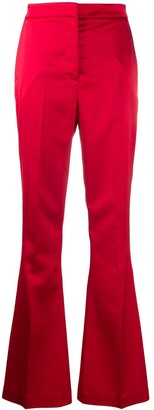 Manuel Ritz High-Waisted Flared Trousers