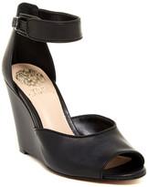 Vince Camuto Marine Ankle Strap Wedge Sandal
