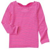 Crazy 8 Stripe Bow-Back Tee