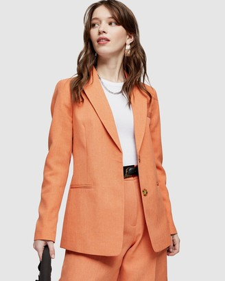 Topshop Single-Breasted Blazer