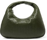 Bottega Veneta Veneta Large Intrecciato Leather Shoulder Bag - Green