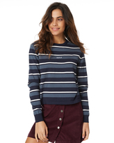 RVCA Sab Stripe Knit Blue