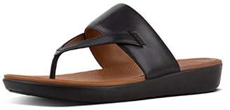FitFlop Women's Delta Tm Toe-Thong Sandals Open (Black 001)