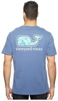 Vineyard Vines Short Sleeve Turtles Starfish Whale Pocket Tee Men's T Shirt