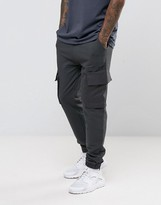 Asos Jogger With Woven Cargo Pockets And Taping