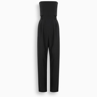Salvatore Ferragamo Black jumpsuit with bustier