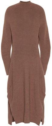 Chloã© Wool and alpaca-blend dress