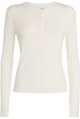 L'Agence Faith Henley T-Shirt