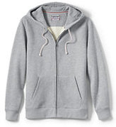 Classic Men's Long Sleeve Serious Sweats Full-zip Hoodie-White